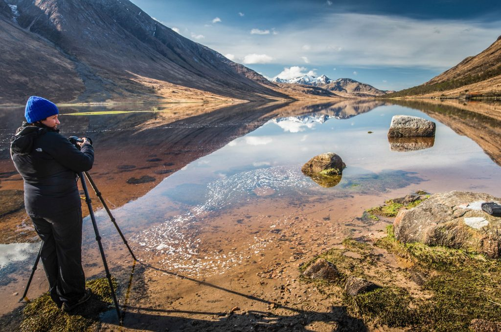 Capture Scottish Mountain Landscapes