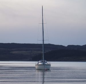 Sailing in Argyll, Scotland