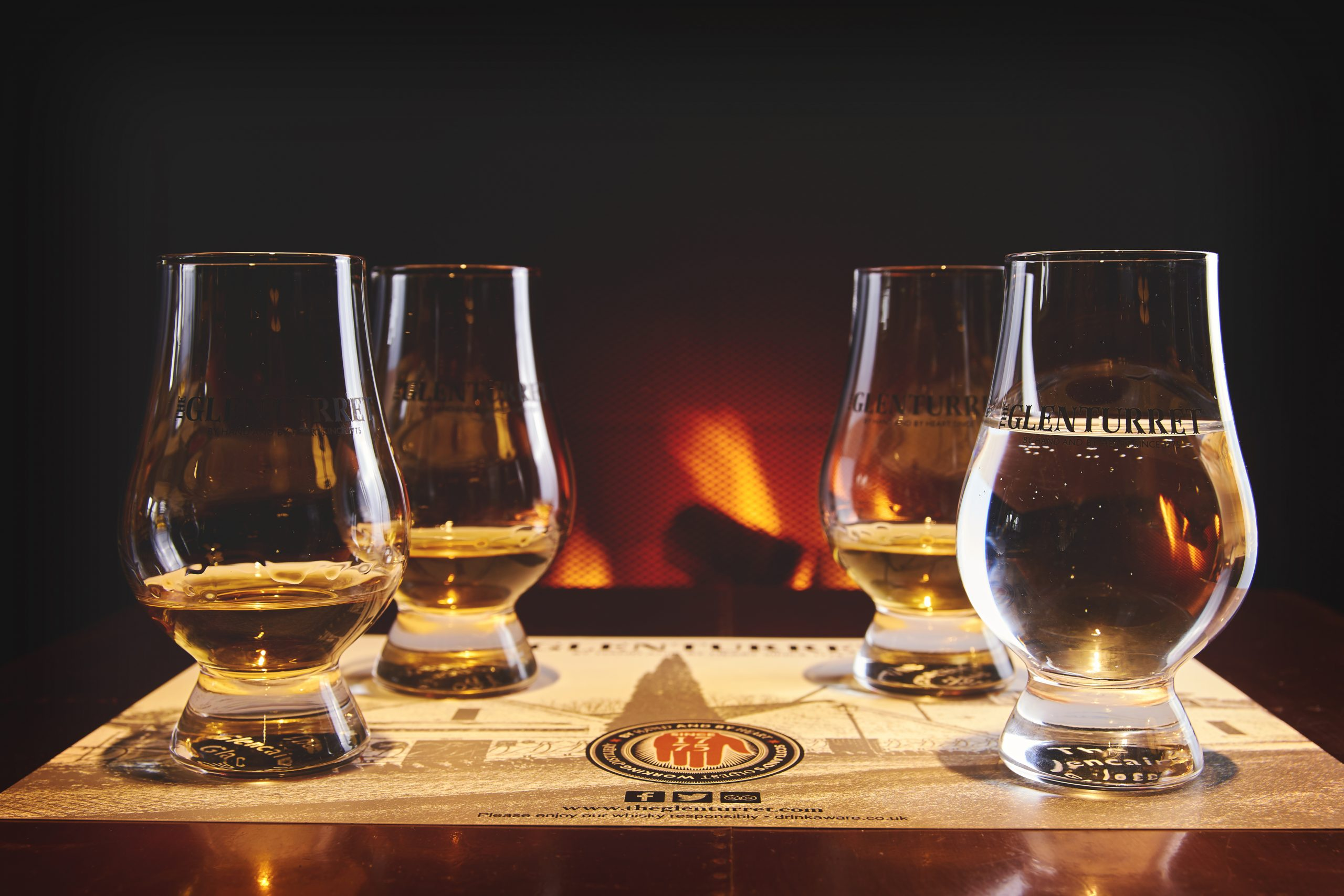 Whisky Tasting at Distillery